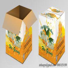 Thùng carton đựng cam